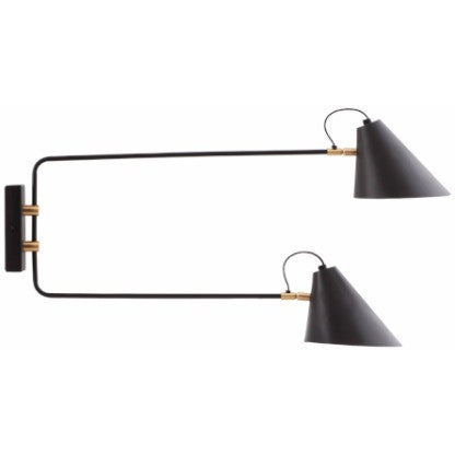Wall lamp Club, two branches House Doctor Lighting - Nordic Design Home