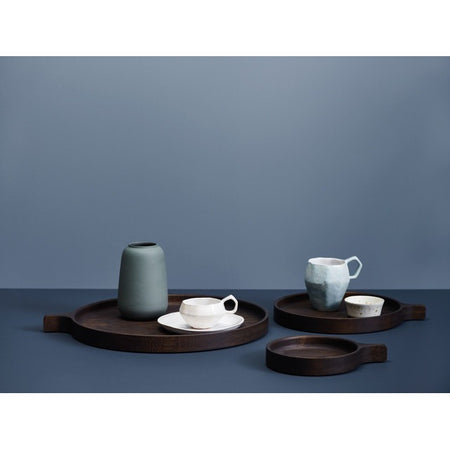 Tray Racket smoked oak, different sizes WOUD Accessory - Nordic Design Home
