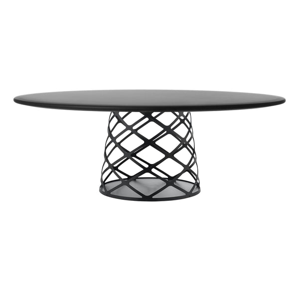 Coffee table Aoyama, different surface finishes, Ø120cm - Nordic Design Home