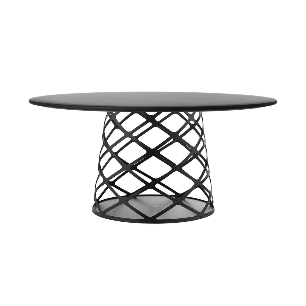 Coffee table Aoyama, different surface finishes, Ø90cm