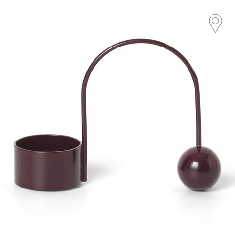 Candlestick Balance for tealight, different colors