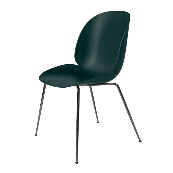 Dining chair Beetle with metal chair legs, different finishes - set of four