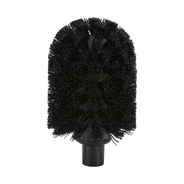 Toilet brush Solid, polished chrome - Nordic Design Home
