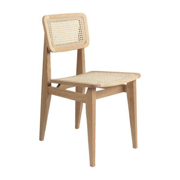 Dining chair C-Chair, French rattan wicker / different wood finishes - Nordic Design Home