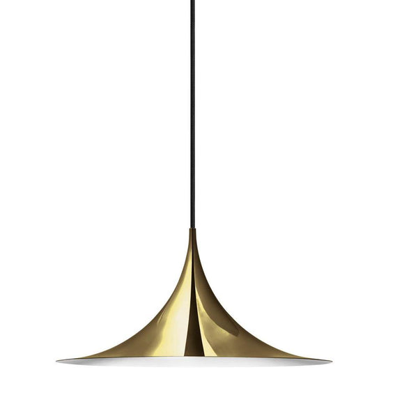 Ceiling lamp Semi Ø30cm, different metal finishes
