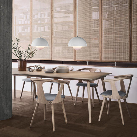Dining table In Between SK6, smoked oak, 250x100cm