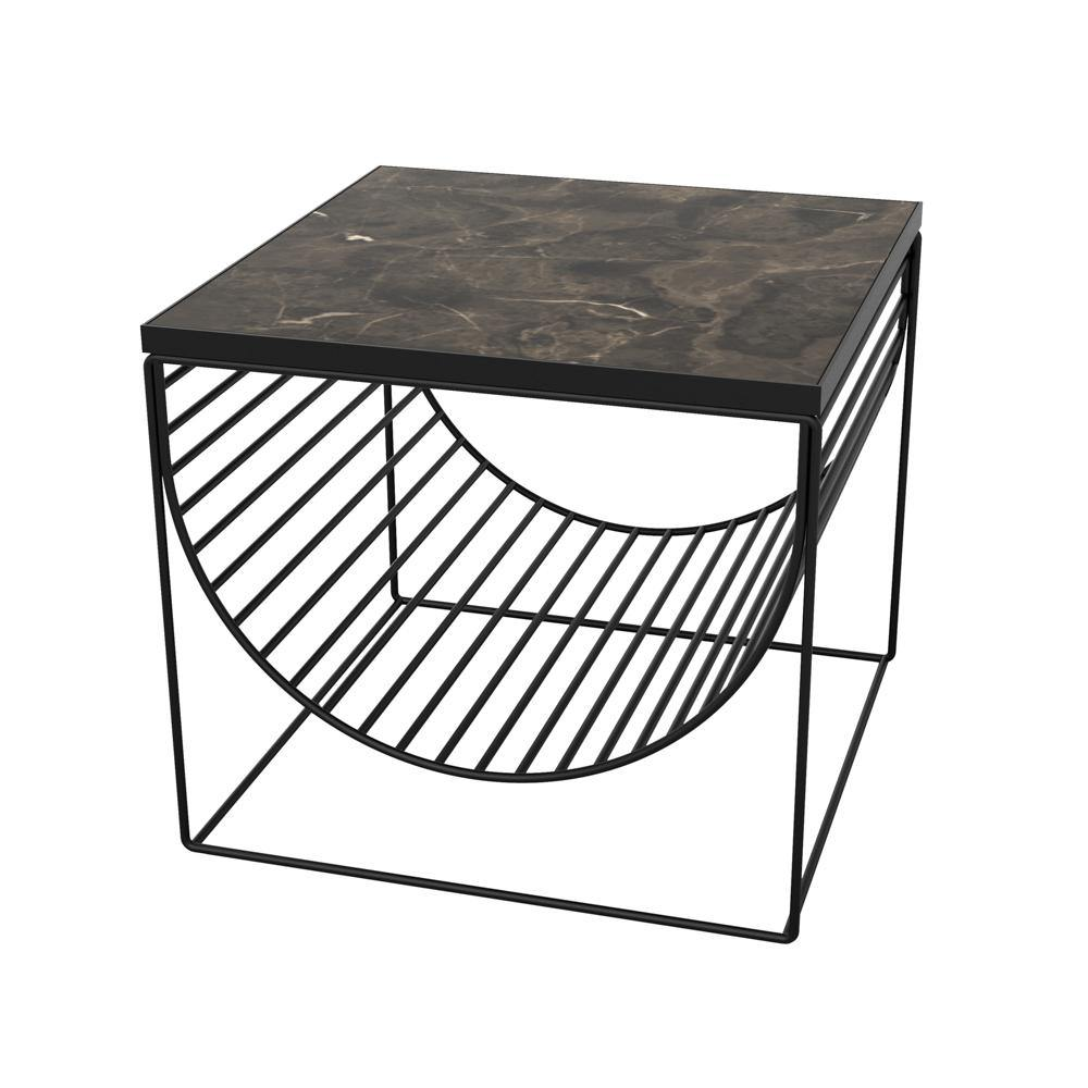 Coffee table with magazine holder Sino C, different finishes AYTM Mööbel - Nordic Design Home