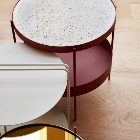 Coffee table / side table Strike Hübsch Furniture - Nordic Design Home