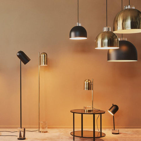 Table lamp Luceo, gold -50%