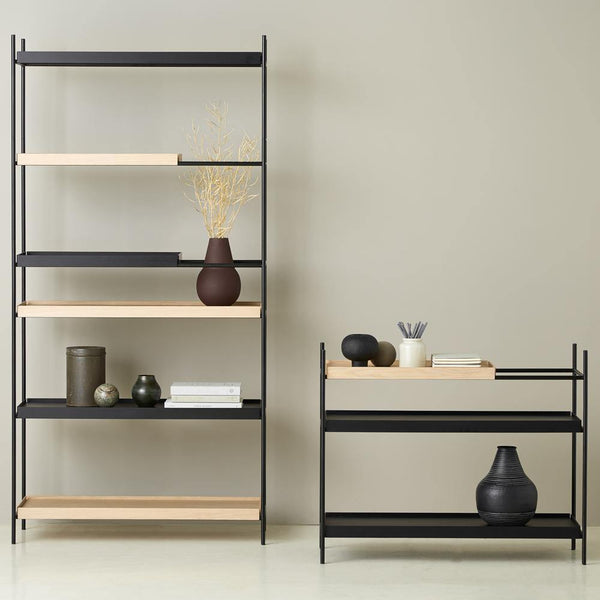 Shelf Tray low, different finishes