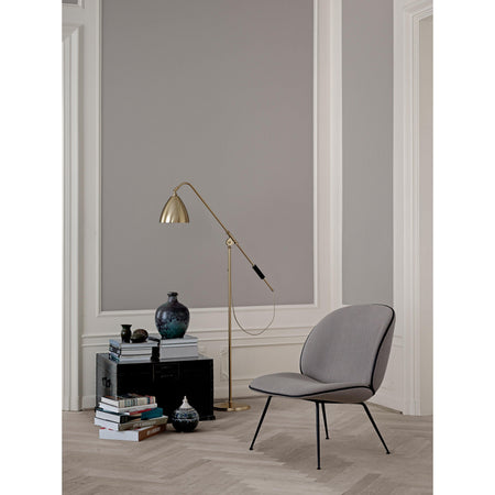 Floor lamp BL4, different leg and dome finishes - Nordic Design Home