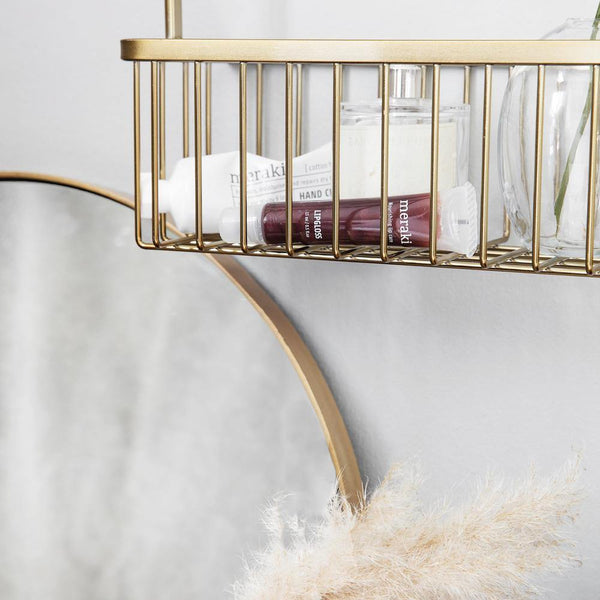 Basket Double Bath, brass House Doctor Accessory - Nordic Design Home