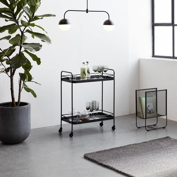 Carlton drinking cart Hübsch Furniture - Nordic Design Home