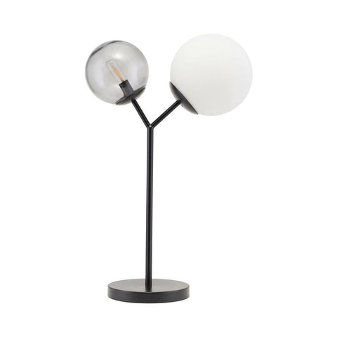 Table lamp Twice, black