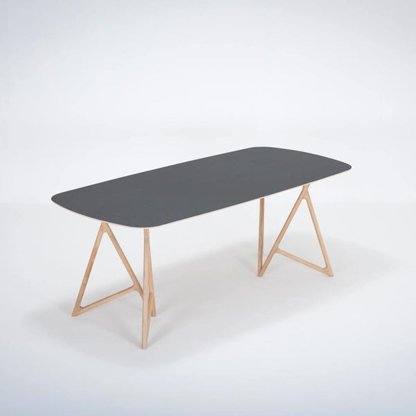 Dining table Koza, black, different sizes