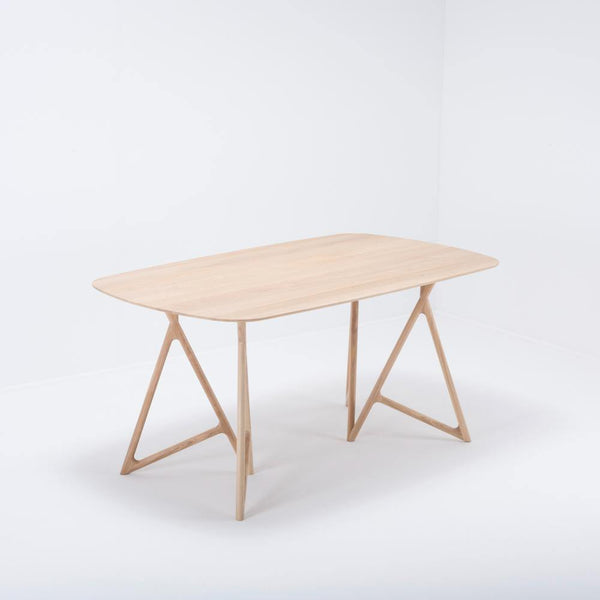 Dining table Koza, solid oak, different sizes