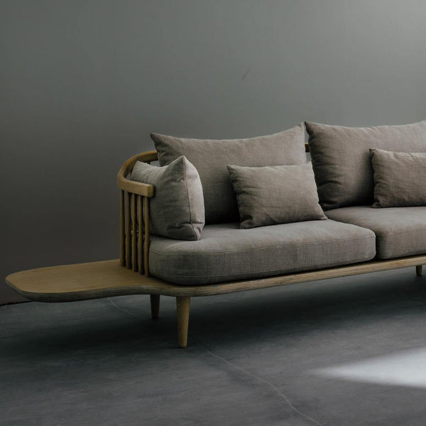 Double sofa Fly SC3, with side tables & Tradition Furniture - Nordic Design Home