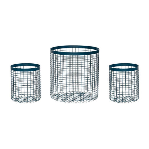 Basket Lens, set of three Hübsch Accessory - Nordic Design Home