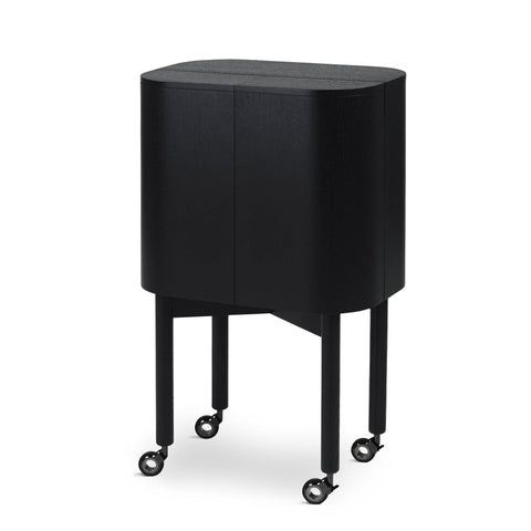 Bar cabinet Loud, black