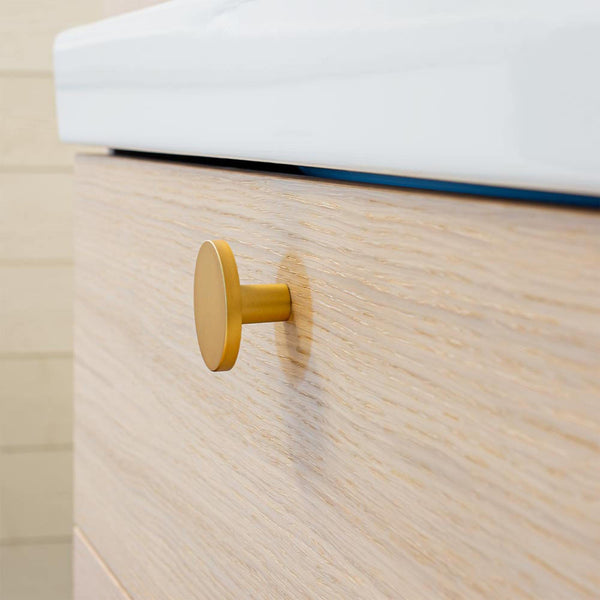 Cabinet knob Como, large, different finishes
