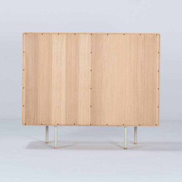 Chest of drawers with Fina drawers, beige, 118cm - Nordic Design Home