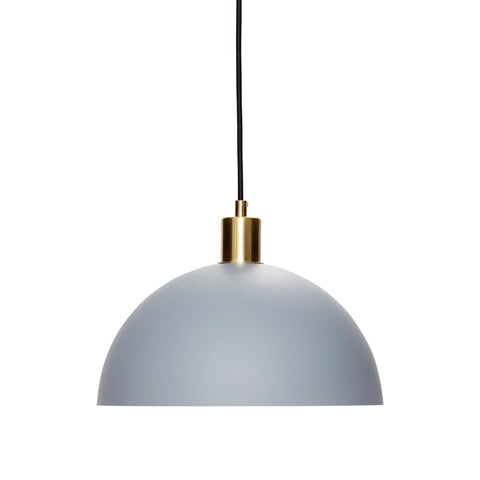 Ceiling lamp Hardy, light gray