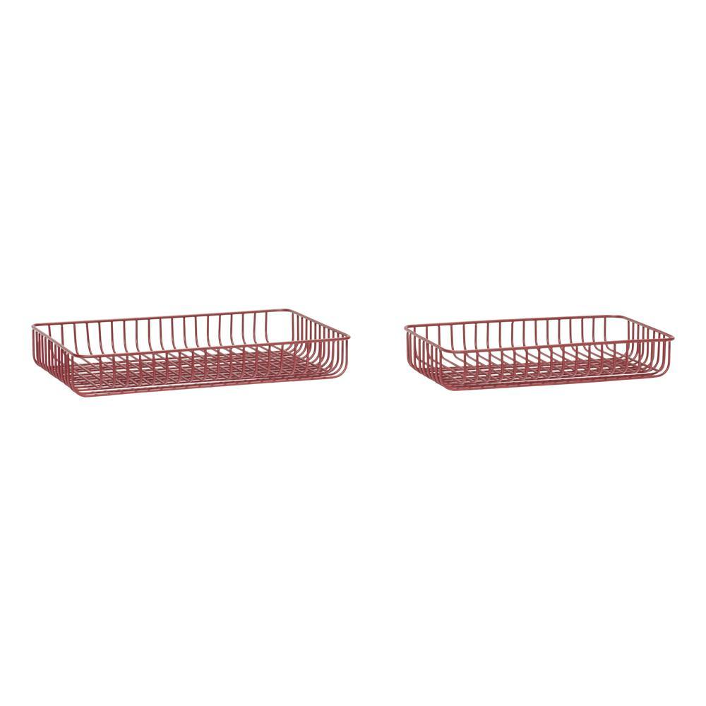 Baskets Issa, double set Hübsch Accessory - Nordic Design Home
