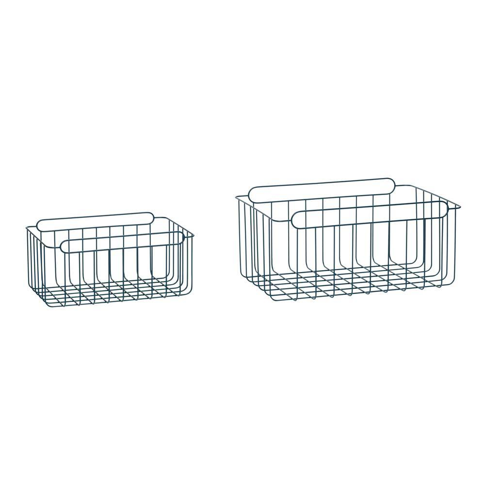 Baskets Lara, double set Hübsch Accessory - Nordic Design Home