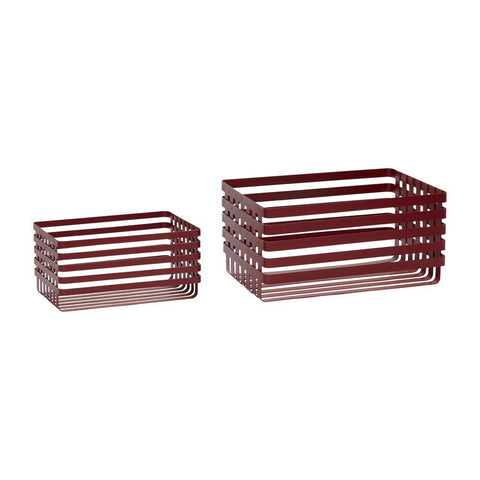 Baskets 940706, double set Hübsch Accessory - Nordic Design Home