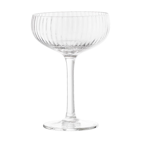 Vintage champagne glass Halo, set of six