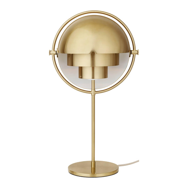 Table lamp Multi-Lite, brass / different finishes