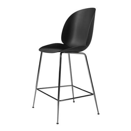 Bar chair Beetle seat height 63cm, with metal legs, different colors and finishes