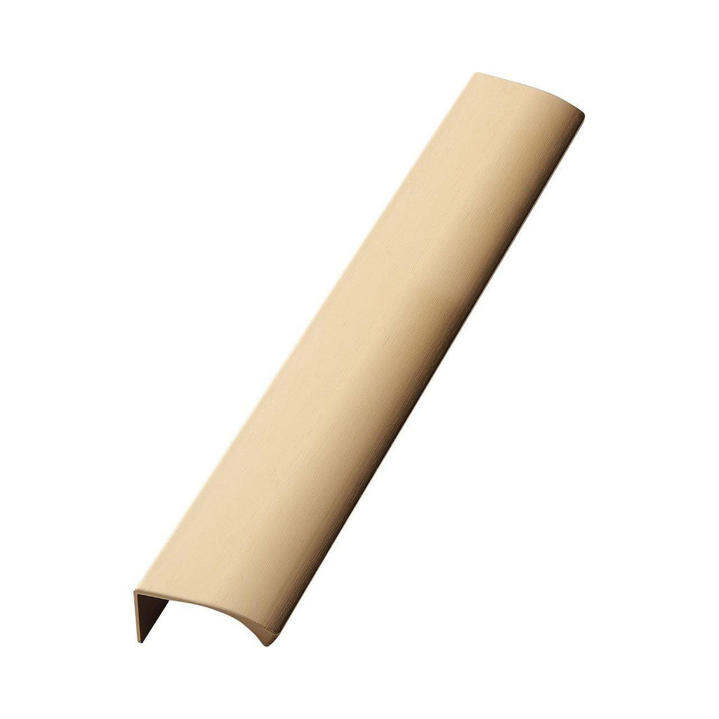 Handle Edge, brushed brass, different sizes Nordic Design Home Handle - Nordic Design Home