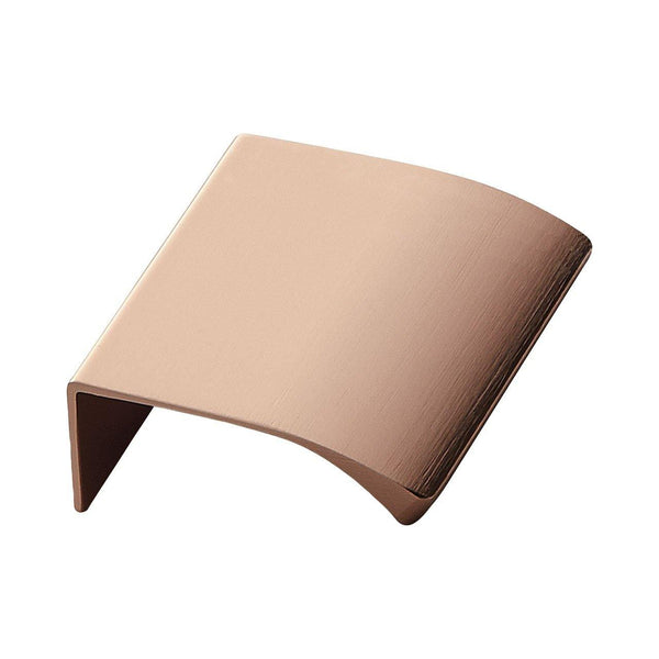 Handle Edge, brushed copper, different sizes Nordic Design Home Handle - Nordic Design Home