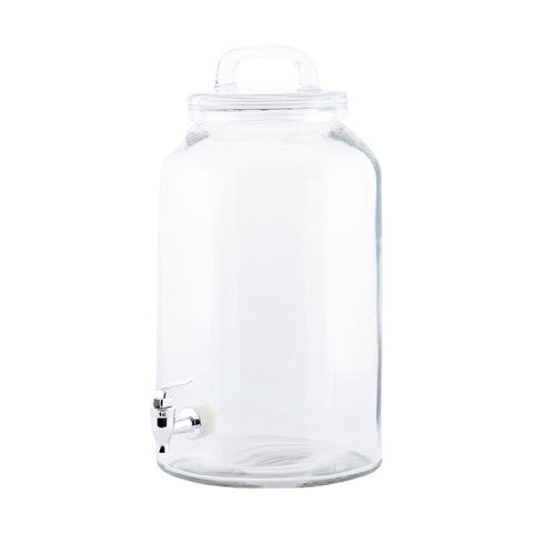 Large drinking jug Sip, untinted glass
