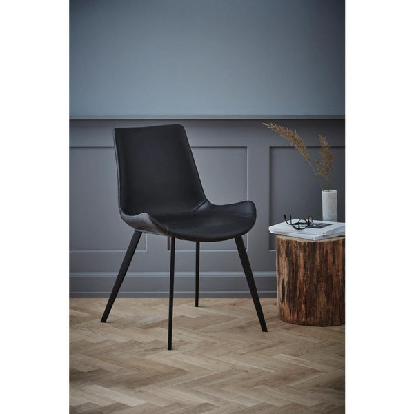 Dining chair Hype leather, different colors