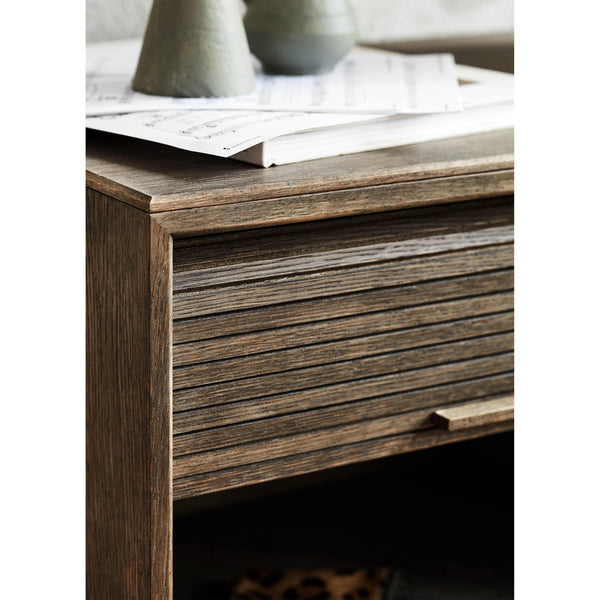 Chest of drawers / wall cabinet Hifive 150cm, different wood finishes - Nordic Design Home