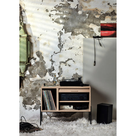 Chest of drawers / wall cabinet Hifive 75cm, different wood finishes - Nordic Design Home