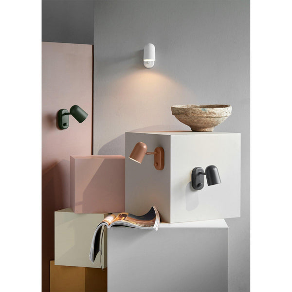 Wall lamp Buddy, different colors - Nordic Design Home