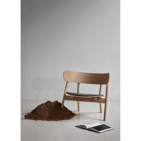 Armchair Oaki, different wood finishes - Nordic Design Home