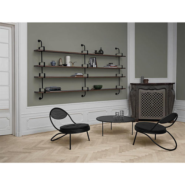 Shelf Démon with one shelf and three supports, different finishes and widths, 215cm / 275cm - Nordic Design Home