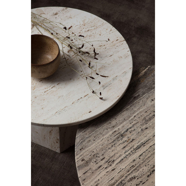 Coffee table Epic, different colors, Ø80cm - Nordic Design Home