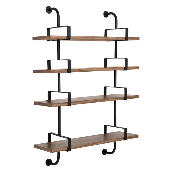 Shelf Démon with four shelves and two supports, different finishes and widths, 95cm / 155cm - Nordic Design Home