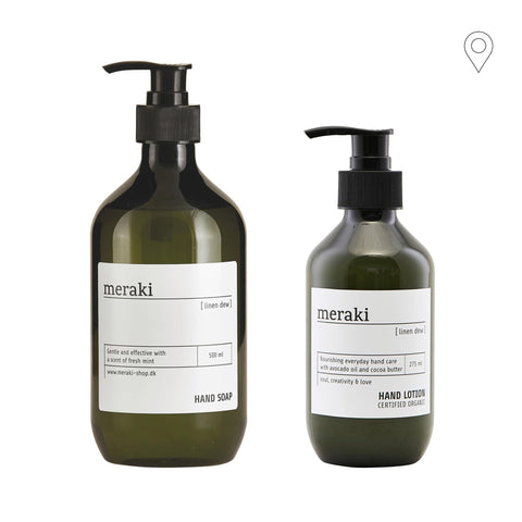 Meraki gift set for Linen Dew hands, double set