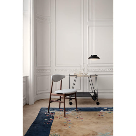 Drinking trolley Matégot, white / black