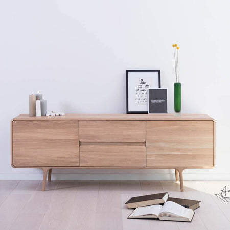 Fawn chest of drawers 180cm Gazzda Mööbel - Nordic Design Home
