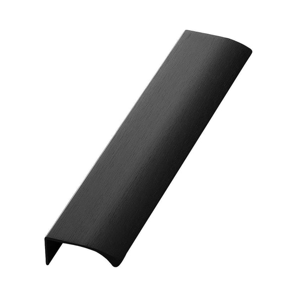 Handle Edge, brushed black, different sizes Nordic Design Home Handle - Nordic Design Home