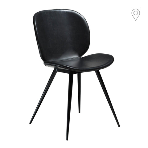 Dining chair Cloud with leather cover, different colors - Nordic Design Home