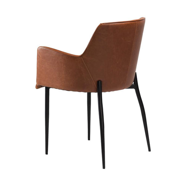 Dining chair Rombo leather cover, different colors