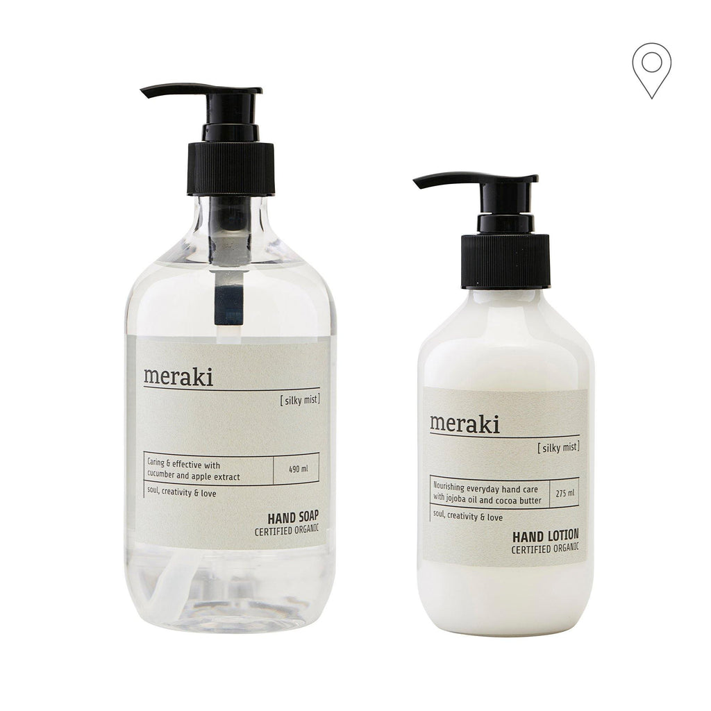 Meraki Silky Mist gift set, for hands